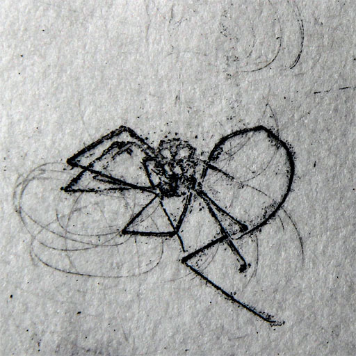 Spider ink is not a Newtonian fluid